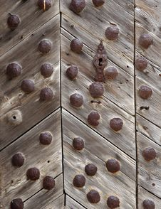 Free OLD CHURCH DOOR Royalty Free Stock Photos - 1095908