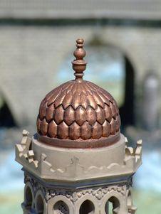 Free Minaret Top Stock Image - 1096001