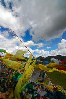 Free Prayer Flags Stock Photos - 1096233