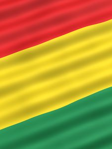Free Flag Of Bolivia Royalty Free Stock Images - 1097209