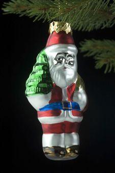 Free Glass Santa Royalty Free Stock Images - 1097229