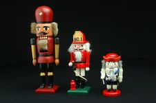 Free Nutcracker Collectables Stock Image - 1097421