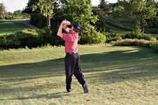 Free He S A Golfer Royalty Free Stock Photography - 1097557