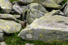 Free Marmot Between Rocks Stock Photography - 1098042
