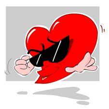 Free Groovy Heart Stock Photos - 1098223