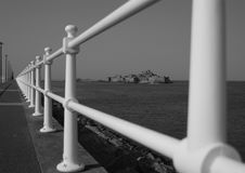 Free Castle View In Monochrome Royalty Free Stock Photography - 1098627