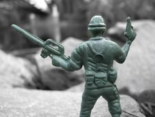 Free Green Soldier Stock Images - 1098974