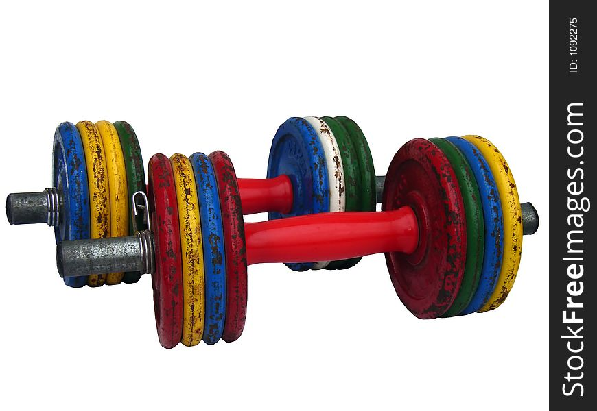 Weightlifting Dumbbell Bars