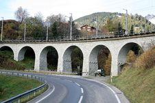 Free Bridge, Viaduct, Transport, Road Stock Image - 109021621