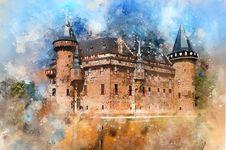 Free Landmark, Sky, Watercolor Paint, Castle Stock Photo - 109021640