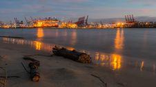 Free Waterway, Evening, Sunset, Shore Royalty Free Stock Image - 109021906