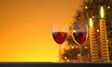 Free Wine Glass, Stemware, Red Wine, Drink Stock Image - 109023061