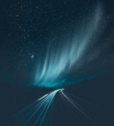 Free Photo Of Aurora Borealis During Night Time Royalty Free Stock Image - 109053446