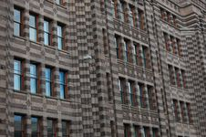 Free Federal Office Building With Windows Royalty Free Stock Photo - 10910035