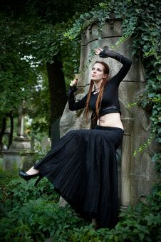 Free Gothic Girl Stock Photography - 10924612