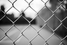 Free Black, Black And White, Wire Fencing, Monochrome Photography Stock Photos - 109275513