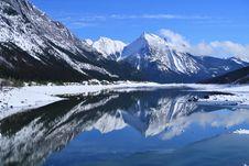 Free Reflection, Nature, Mountainous Landforms, Mountain Stock Images - 109329914
