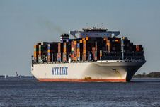 Free Container Ship, Ship, Water Transportation, Transport Royalty Free Stock Images - 109330179