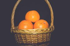 Free Fresh Ripe Persimmon Retro Stock Photo - 109344530