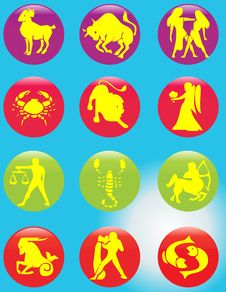 Free Horoscope Royalty Free Stock Photos - 10949208