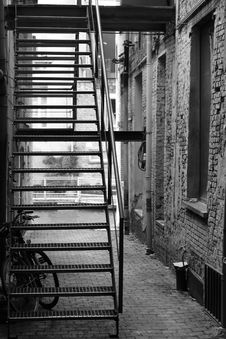 Free Black, Black And White, Alley, Infrastructure Stock Photos - 109829733