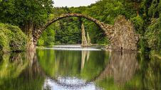 Free Reflection, Nature, Water, Bridge Royalty Free Stock Photography - 109829967
