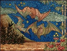 Free Art, Mosaic, Tapestry, Pattern Stock Image - 109829991