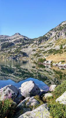 Free Wilderness, Mountain, Lake, Tarn Stock Images - 109830464