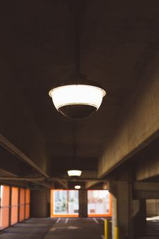 Free Lighted Ceiling Lamp Stock Photo - 109883670