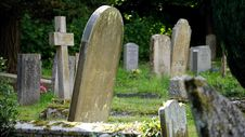 Free Burial, Cemetery, Countryside Stock Images - 109884044