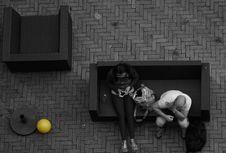 Free Adults, Black-and-white, Bricks Royalty Free Stock Photos - 109884078