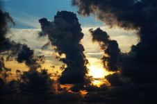 Free Afterglow, Backlit, Clouds Stock Images - 109884134