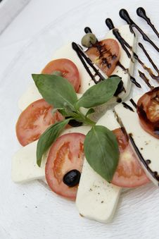 Free Appetizer, Basil, Cheese Royalty Free Stock Image - 109884226