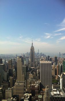 Free Empire State Building Under Blue Sky Stock Photo - 109884350
