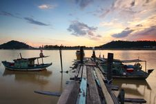Free Boats, Clouds, Dock Royalty Free Stock Photos - 109884958
