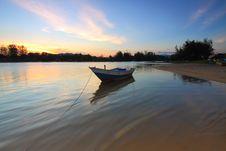 Free Boat, Dawn, Daylight Stock Image - 109885101
