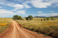 Free Brown Road Going To The Mountain Photography Stock Image - 109885271