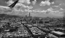 Free Grayscale Photography Of Aerial View Of City Royalty Free Stock Images - 109885469