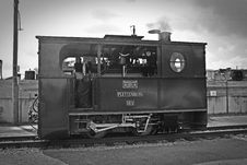 Free Gray Scale Photo Of Classic Train Royalty Free Stock Image - 109886026