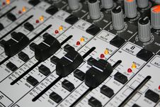 Free Closeup Shot Of Music Mixer Stock Photo - 109886220