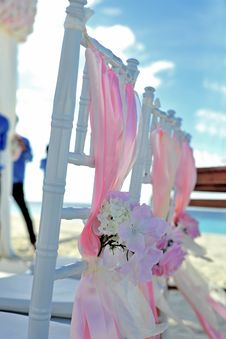 Free Beach, Chairs, Colourful Royalty Free Stock Images - 109886449