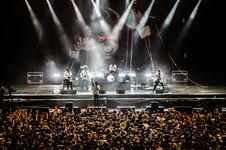 Free Audience, Band, Concert Stock Photos - 109886473