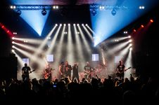 Free Audience, Band, Concert Stock Image - 109886531