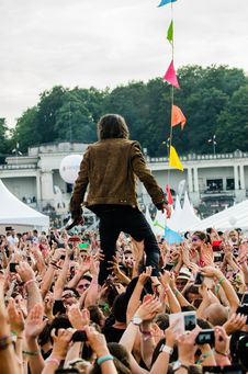Free Audience, Concert, Crowd Stock Photos - 109886613
