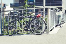 Free Bicycles, Bikes, Buildings Stock Photography - 109886752