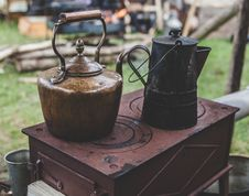 Free Brass Kettle Royalty Free Stock Image - 109886766