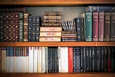 Free Book, Shelves, Stack Royalty Free Stock Images - 109887499