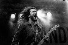 Free Guitarist Of Greyscale Photo Stock Image - 109887951