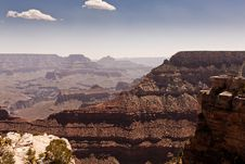 Free Grand Canyon Under Blue And White Cloudy Sky Royalty Free Stock Image - 109888036