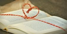 Free Book, Heart, Knowledge Stock Photo - 109889240